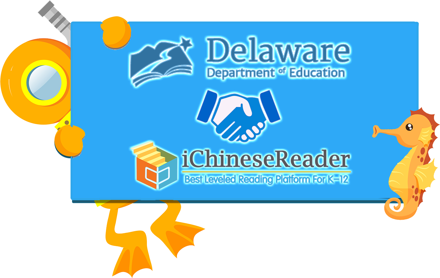 All Immersion Students in Delaware   Can Now Enjoy iChineseReader